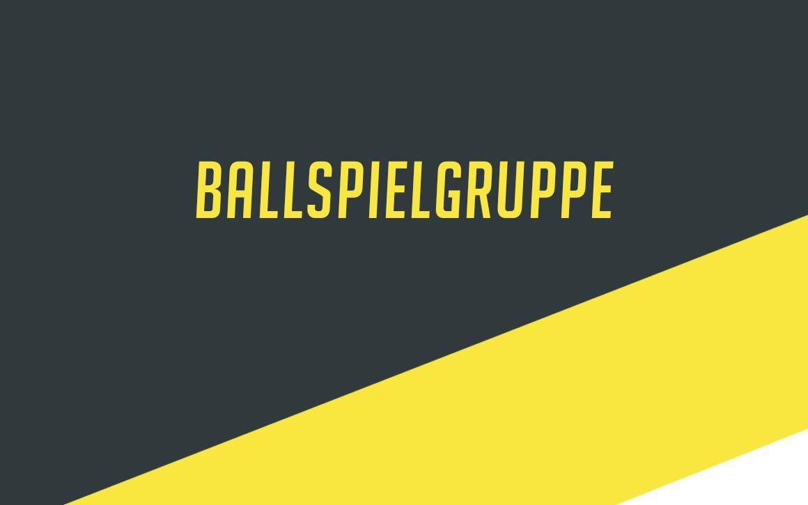 Ballspielgruppe